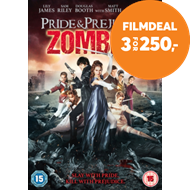 Produktbilde for Pride And Prejudice And Zombies (UK-import) (DVD)