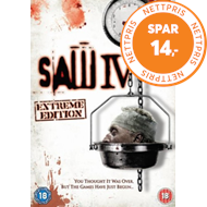 Produktbilde for Saw IV (UK-import) (DVD)