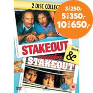 Produktbilde for Stakeout / Another Stakeout (Spanerne 1 & 2) (UK-import) (DVD)