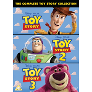 Toy Story 1-3 (UK-import) (DVD)