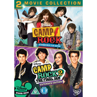 Camp Rock: 2-Movie Collection (UK-import) (DVD)