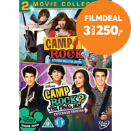 Produktbilde for Camp Rock: 2-Movie Collection (UK-import) (DVD)