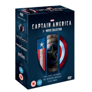 Produktbilde for Captain America: 3-Movie Collection (UK-import) (DVD)