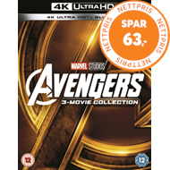 Avengers: 3-Movie Collection (UK-import) (4K Ultra HD + Blu-ray)