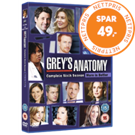 Produktbilde for Grey's Anatomy - Sesong 6 (DK-import) (DVD)