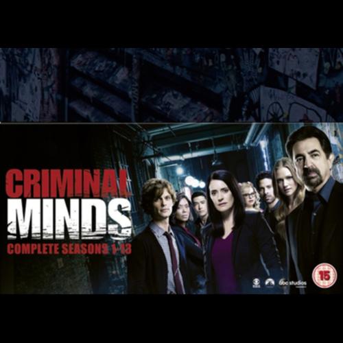 Criminal Minds - Sesong 1-13 (UK-import) (DVD)