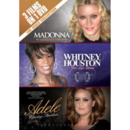 Produktbilde for Madonna: In A League Of Her Own/Whitney Houston: Her Life Story/Adele: Chasing Stardom (UK-import) (DVD)