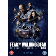 Fear The Walking Dead: The Complete Seasons 1-4 (UK-import) (DVD)