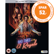 Produktbilde for Bad Times At The El Royale (UK-import) (4K Ultra HD + Blu-ray)