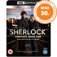 Produktbilde for Sherlock: Complete Series One (UK-import) (4K Ultra HD + Blu-ray)