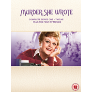 Murder She Wrote: Complete Series One - Twelve (UK-import) (DVD)