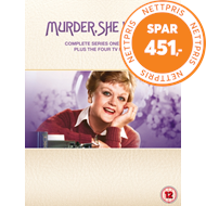 Produktbilde for Murder She Wrote (Jessica Fletcher) - Sesong 1-12: Complete Series (UK-import) (DVD)