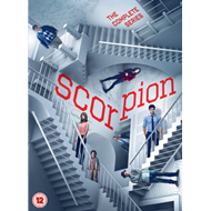 Scorpion - Sesong 1-4 (UK-import) (DVD)