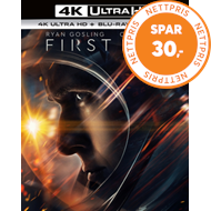 Produktbilde for First Man (UK-import) (4K Ultra HD + Blu-ray)