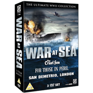 Produktbilde for War At Sea Collection (UK-import) (DVD)