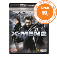 Produktbilde for X-Men 2 (4K Ultra HD + Blu-ray)