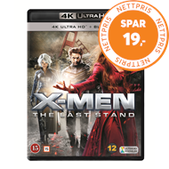 Produktbilde for X-Men: The Last Stand (4K Ultra HD + Blu-ray)