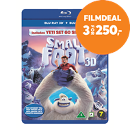 Produktbilde for Smallfoot (Blu-ray 3D + Blu-ray)