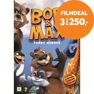 Produktbilde for Bob & Max - Furry Heroes (DVD)