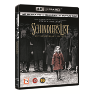 Produktbilde for Schindler's List - 25th Anniversary Edition (DK-import) (4K Ultra HD + Blu-ray)