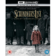 Schindler's List - 25th Anniversary Edition (Digipack) (UK-import) (4K Ultra HD + Blu-ray)