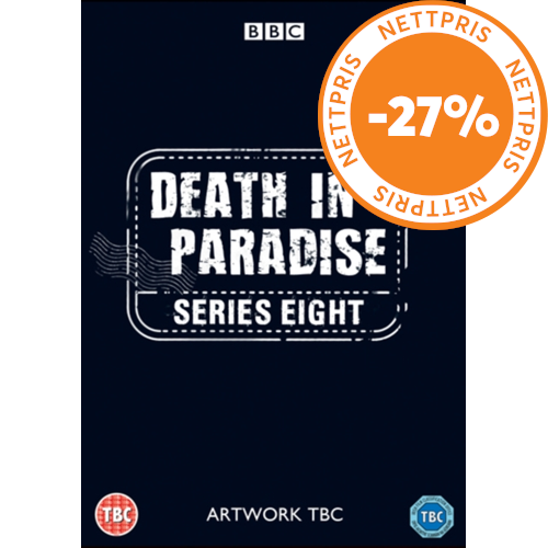 Death In Paradise / Mord i Paradis - Sesong 8 (UK-import) (DVD)