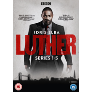 Produktbilde for Luther: Series 1-5 (UK-import) (DVD)