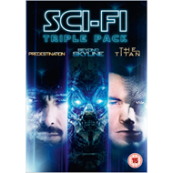 Produktbilde for Predestination/Beyond Skyline/The Titan (UK-import) (DVD)