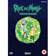 Produktbilde for Rick And Morty - Sesong 1-3 (UK-import) (DVD)