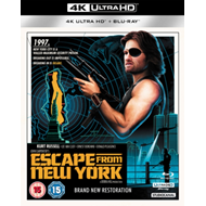 Produktbilde for Escape From New York (UK-import) (4K Ultra HD + Blu-ray)