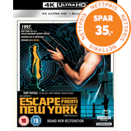 Escape From New York (UK-import) (4K Ultra HD + Blu-ray)