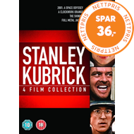 Produktbilde for Stanley Kubrick: 4-Film Collection (UK-import) (DVD)