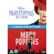 Produktbilde for Mary Poppins: 2-Movie Collection (UK-import) (DVD)