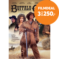 Produktbilde for Buffalo Girls (DK-import) (DVD)