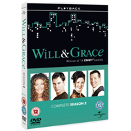 Produktbilde for Will And Grace: The Complete Series 2 (UK-import) (DVD)