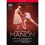 Produktbilde for Manon: Royal Opera House (Yates) (UK-import) (DVD)