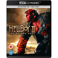 Hellboy 2 - The Golden Army (UK-import) (4K Ultra HD + Blu-ray)