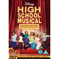 Produktbilde for High School Musical: Encore Edition (UK-import) (DVD)