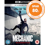 Produktbilde for Mechanic - Resurrection (UK-import) (4K Ultra HD + Blu-ray)