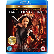 Produktbilde for The Hunger Games: Catching Fire (UK-import) (Blu-ray + DVD)