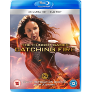Produktbilde for The Hunger Games: Catching Fire (UK-import) (4K Ultra HD + Blu-ray)