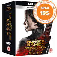 Produktbilde for The Hunger Games: Complete 4-Film Collection (UK-import) (4K Ultra HD + Blu-ray)