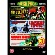 Produktbilde for Toy Soldiers/Kampuchea Express/War Dog (UK-import) (DVD)