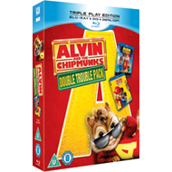 Produktbilde for Alvin And The Chipmunks/Alvin And The Chipmunks 2 (UK-import) (Blu-ray + DVD)