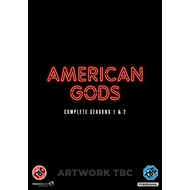 Produktbilde for American Gods - Sesong 1-2 (UK-import) (DVD)