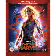 Produktbilde for Captain Marvel (UK-import) (Blu-ray 3D + Blu-ray)