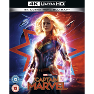 Produktbilde for Captain Marvel (UK-import) (4K Ultra HD + Blu-ray)