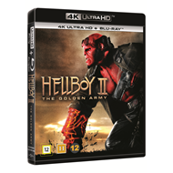 Produktbilde for Hellboy 2 - The Golden Army (DK-import) (4K Ultra HD + Blu-ray)