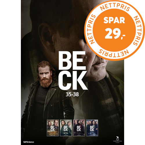 Beck - Vol. 9 (Episode 35-38) (DK-import) (DVD)