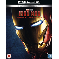 Produktbilde for Iron Man 1-3 (UK-import) (4K Ultra HD + Blu-ray)